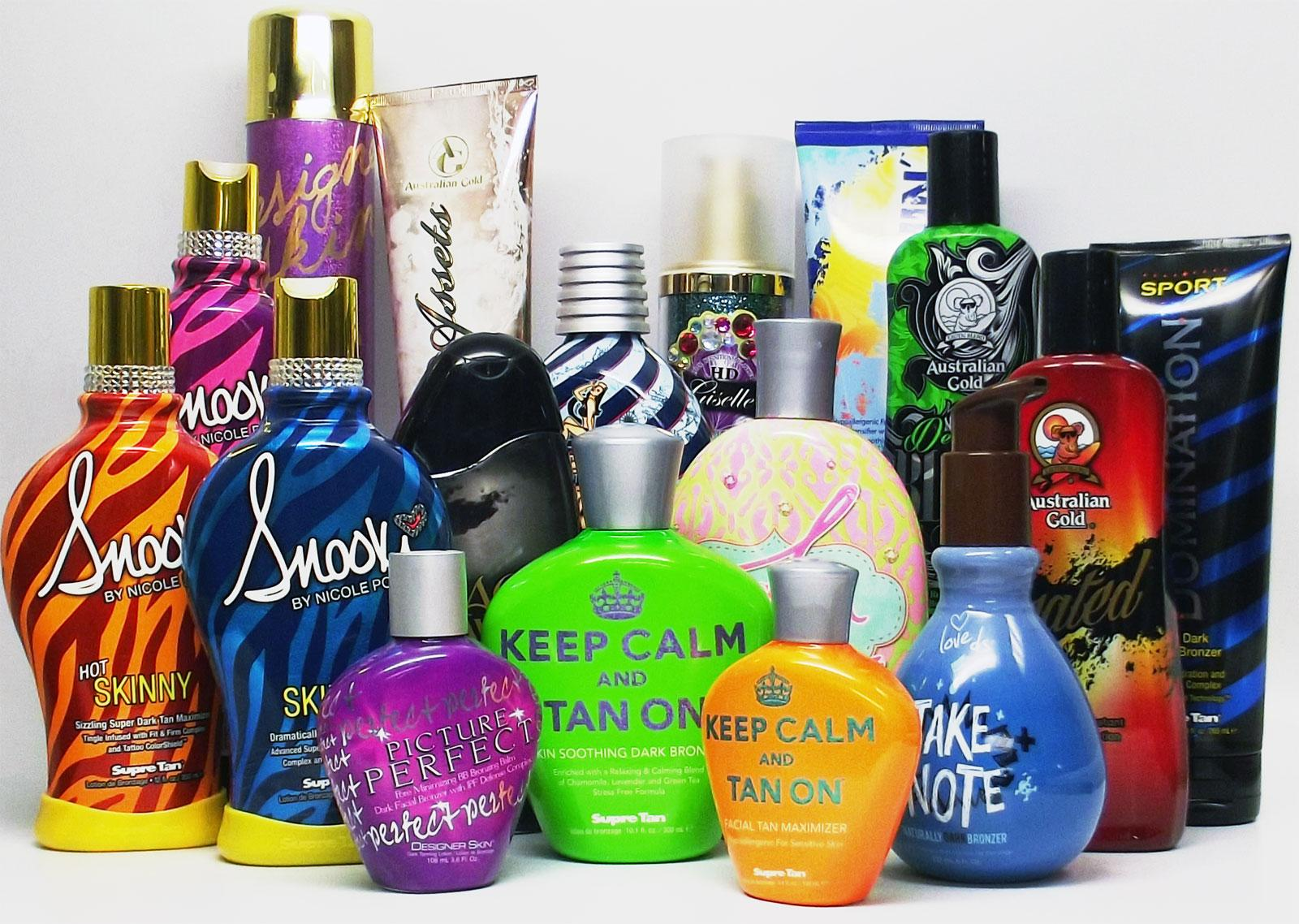 tanning product
